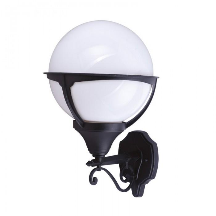 1Настенный уличный светильник A1491AL-1BK Arte Lamp