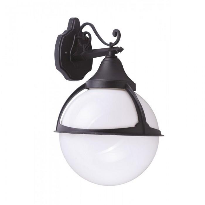 2Настенный уличный светильник A1491AL-1BK Arte Lamp