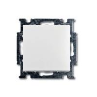 Выключатель одноклавишный (альпийский белый) 1012-0-2139 Basic 55