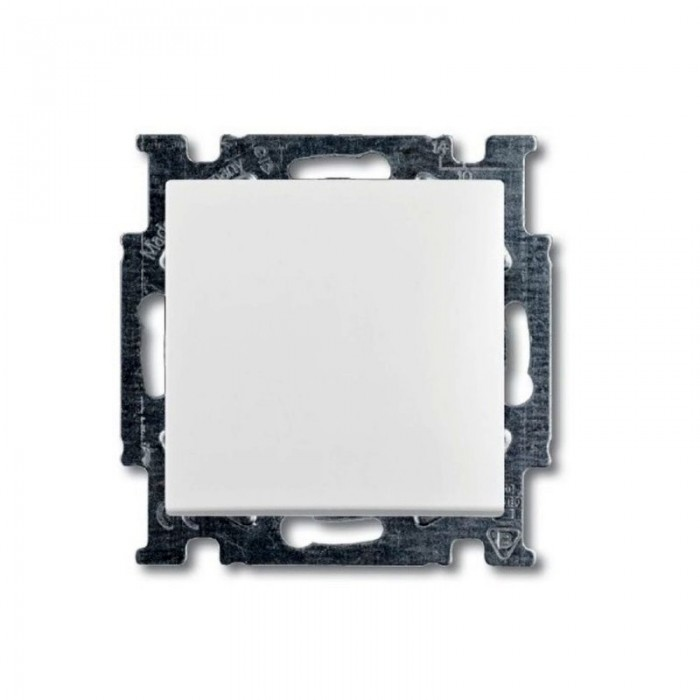 1Переключатель промежуточный (альпийский белый) 1012-0-2145 Basic 55