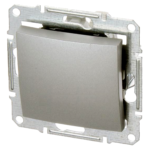 Переключатель на 2 направления (алюминий) 1012-0-2142-1 Basic 55