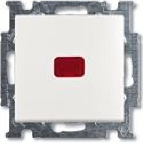 Переключатель на 2 направления с подсветкой (альпийский белый) 1012-0-2143 Basic 55
