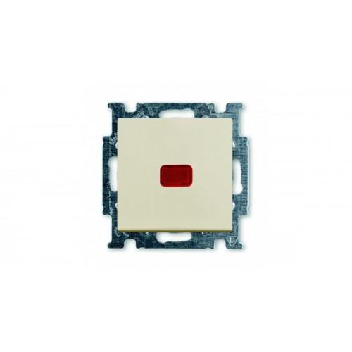 Переключатель на 2 направления с подсветкой (сл.кость) 1012-0-2150 Basic 55
