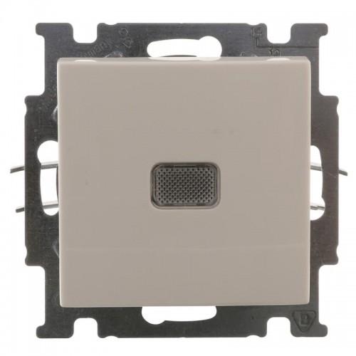 Выключатель с подсветкой (альпийский белый) 1012-0-2153 Basic 55