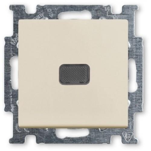 Выключатель с подсветкой (сл.кость) 1012-0-2156 Basic 55