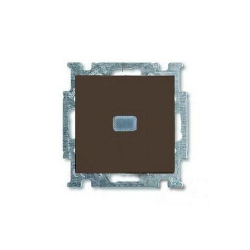 Выключатель с подсветкой (шато-черный) 1012-0-2175 Basic 55