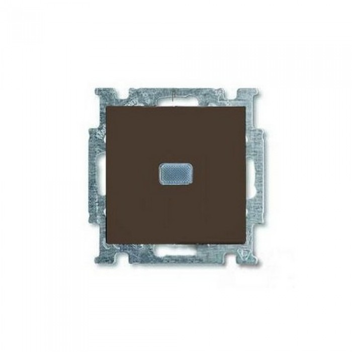 1Выключатель с подсветкой шато-черный 1012-0-2175 Basic 55