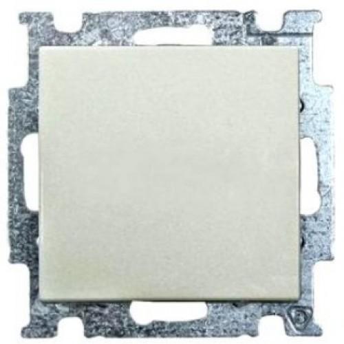 Выключатель одноклавишный (шале-белый) 1012-0-2184 Basic 55