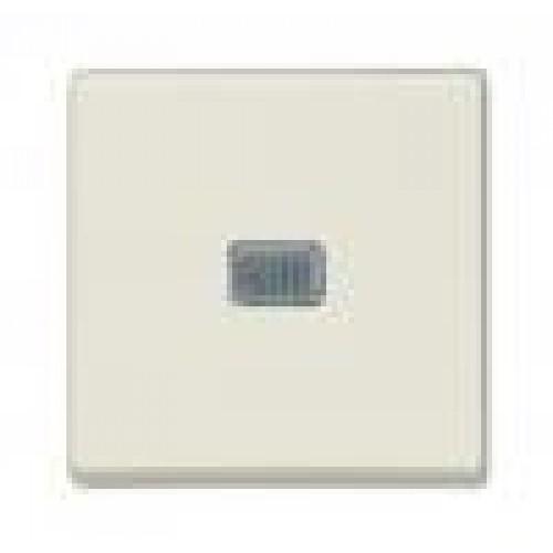 Выключатель с подсветкой (шале-белый) 1012-0-2185 Basic 55