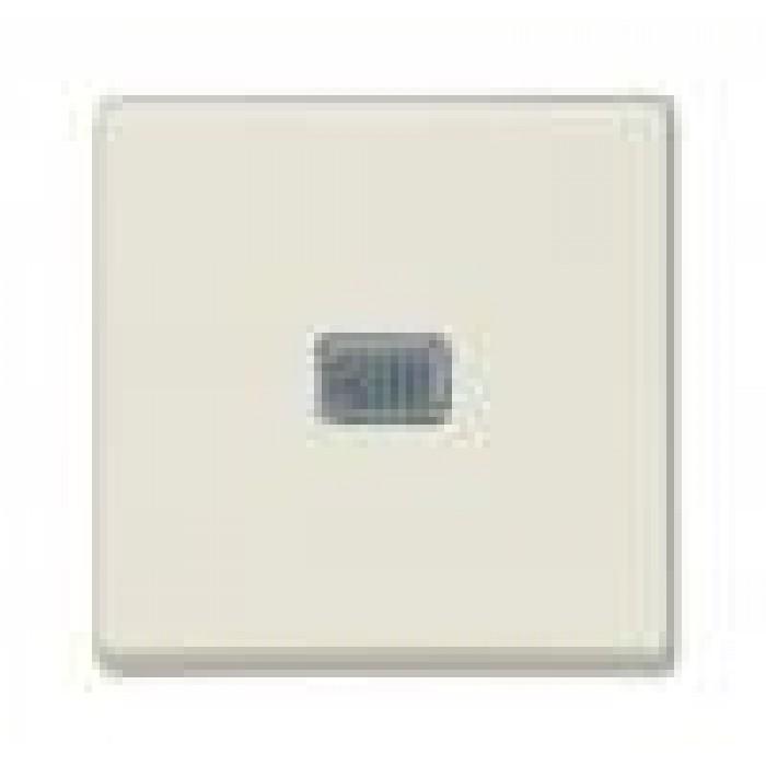 1Выключатель с подсветкой (шале-белый) 1012-0-2185 Basic 55