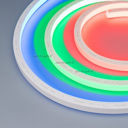 Герметичная лента AQUA-5000S-TOP-5060-72-24V RGB (16.5х16.5mm, 13W, IP68) (arlight, -)