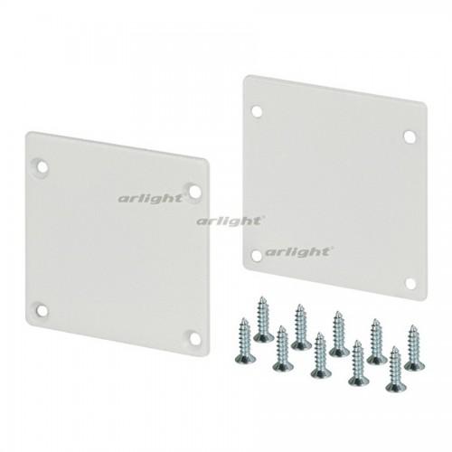 Заглушка SL-ARC-3535 White (arlight, Металл)