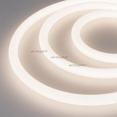 Герметичная лента MOONLIGHT-5000S-ROUND-2835-336-24V Day (18х18mm, 16W, IP65) (arlight, -)