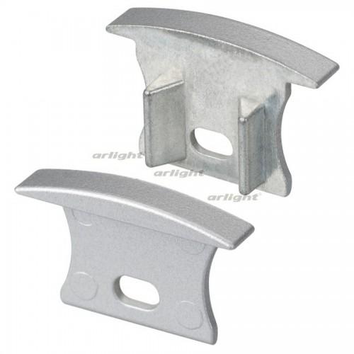Заглушка ALU-SLIM-H15-F с отверстием (arlight, Металл)