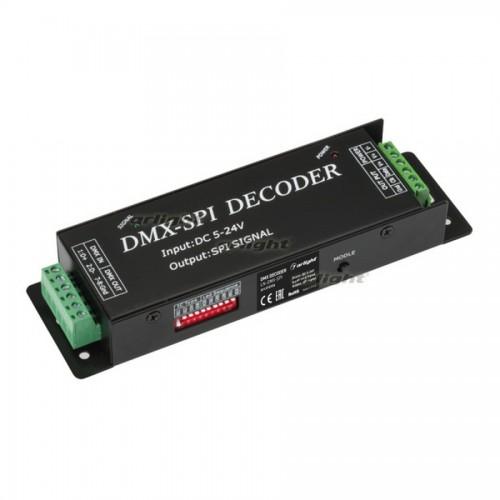 DMX-декодер LN-DMX-SPI (5-24V, 170 pix) (arlight, IP20 Металл, 1 год)