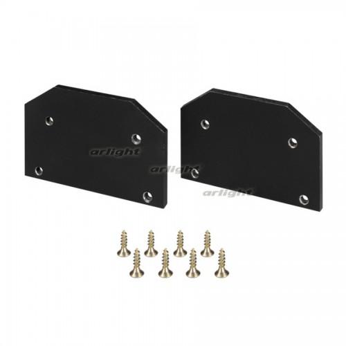 Заглушка LGD-4TR-CAP-STRETCH-BK (arlight, Алюминий+пластик)