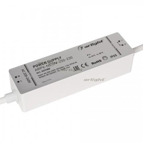 Блок питания ARPV-NEON-250-230 (230V, 1A, 250W) (Arlight, Закрытый)