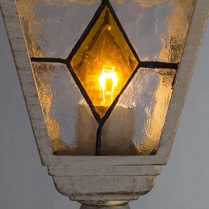 2Уличный фонарный столб A1017PA-1WG Arte Lamp