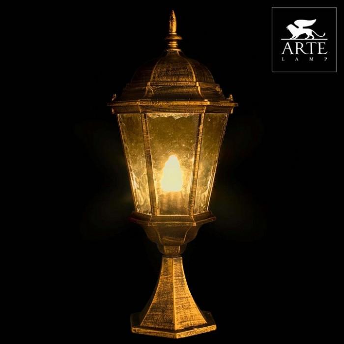 2Уличный светильник A1204FN-1BN Genova Arte Lamp