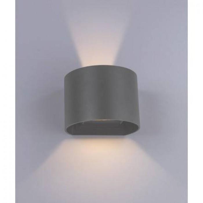 1Настенный уличный светильник A1415AL-1GY