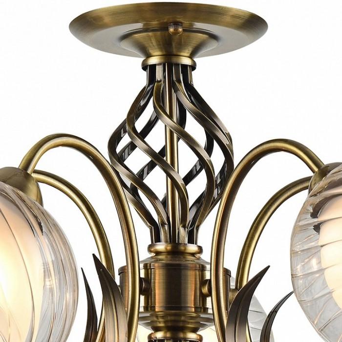 2Классическая люстра A1607PL-5AB Arte Lamp