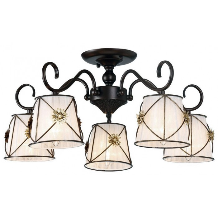 1Люстра потолочная A5495PL-5BR Fortuna ARTE LAMP