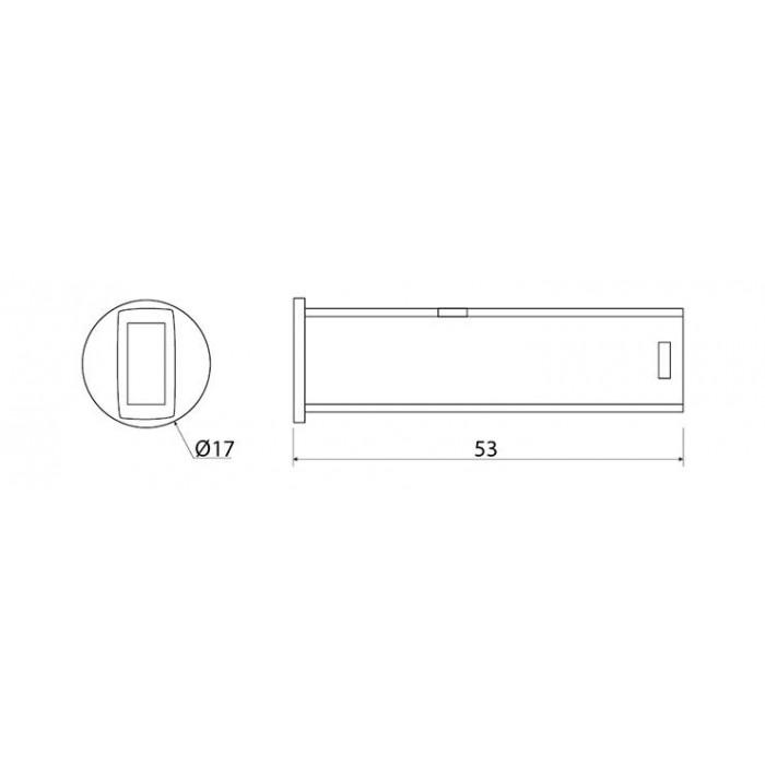 2Выключатель бесконтактный универсальный белый 3 в 1 - AE-WBBUNI-10DIM