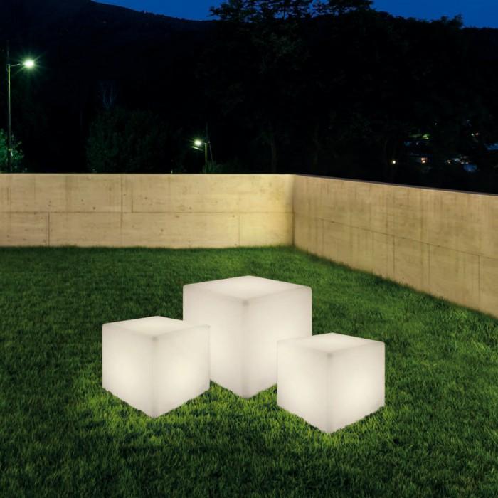 1Ландшафтный светильник Куб 103-40-6