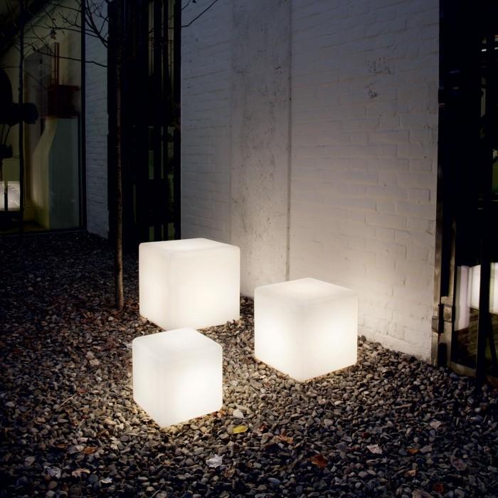 2Ландшафтный светильник Куб 103-40-6