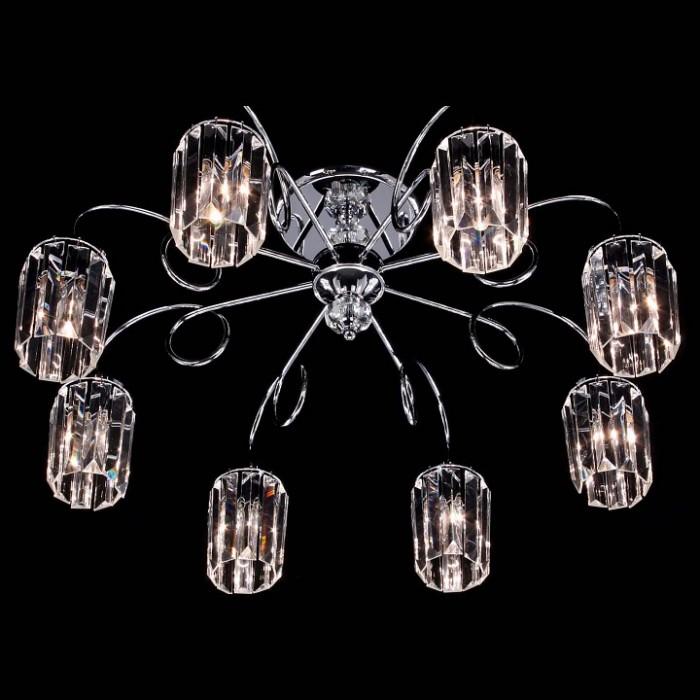 2Люстра потолочная Citilux Синди CL330181 хром