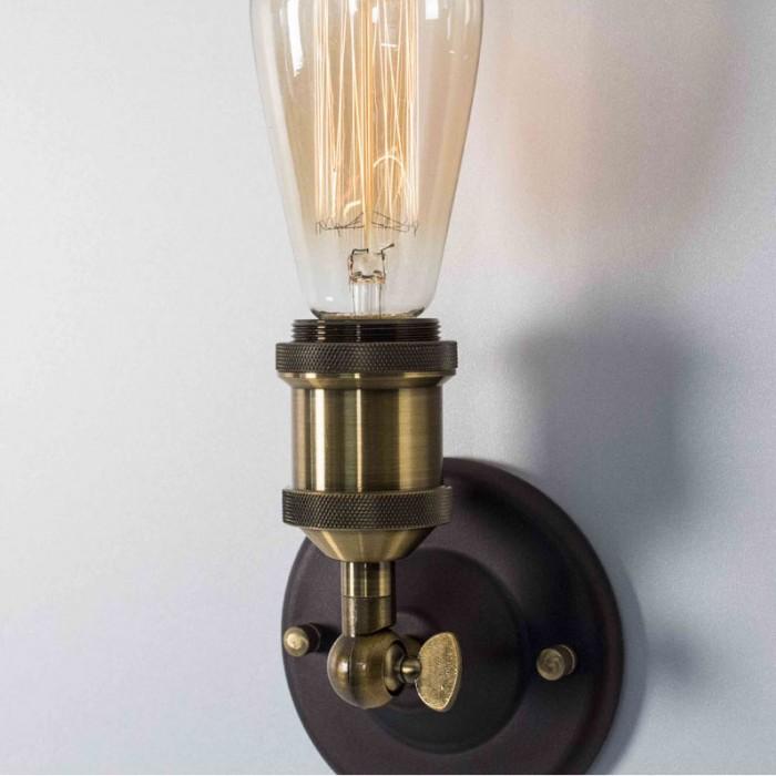 2Настенно-потолочный светильник в стиле Loft CL450500 Эдисон Citilux