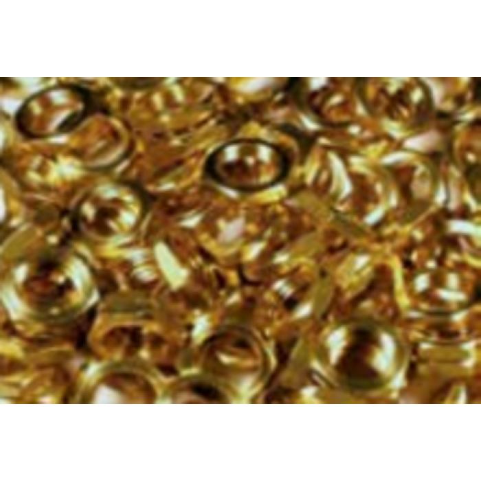 1009/4/10341 PComponents Гайка латунь M10x1 13x4mm