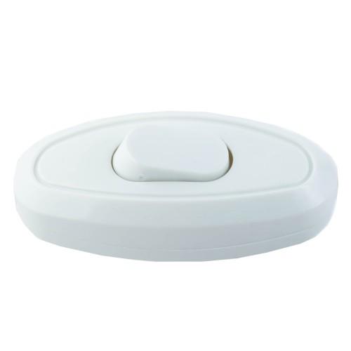 018136 Выключатель на шнур белый TDM
