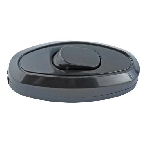 018137 Выключатель на шнур черный TDM