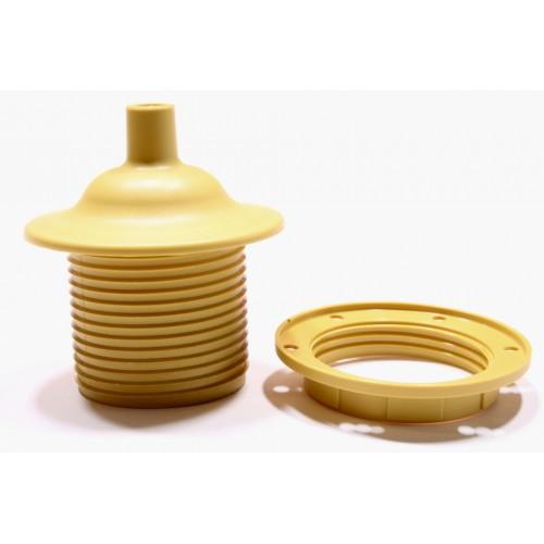 026092 Патрон Е27 с колпачком для подвеса золотой