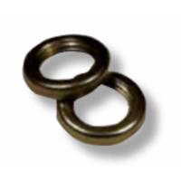 038G Гайка круглая d=M10x1 H=3 D=14 сталь, цвет антик