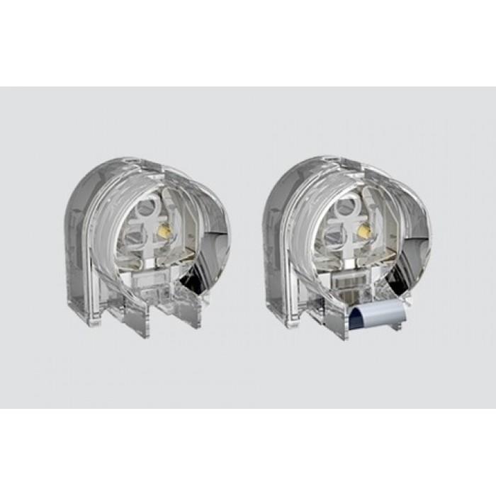 1263/TR G5 ламподержатель накидной прозрачный Stucchi