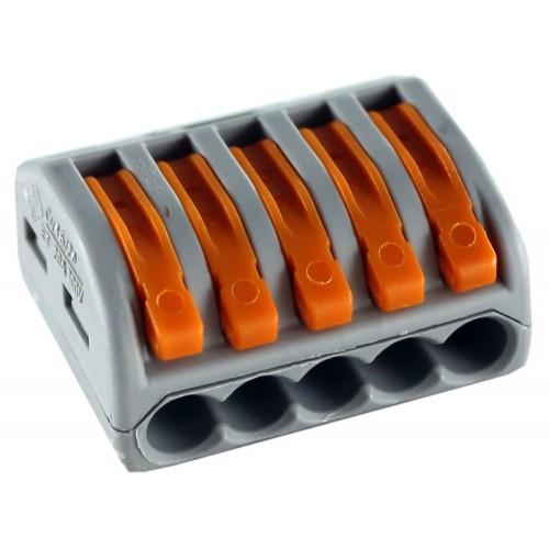 415 Клемма соединительная 5 контактов (сечение 0,08-2,5мм2)