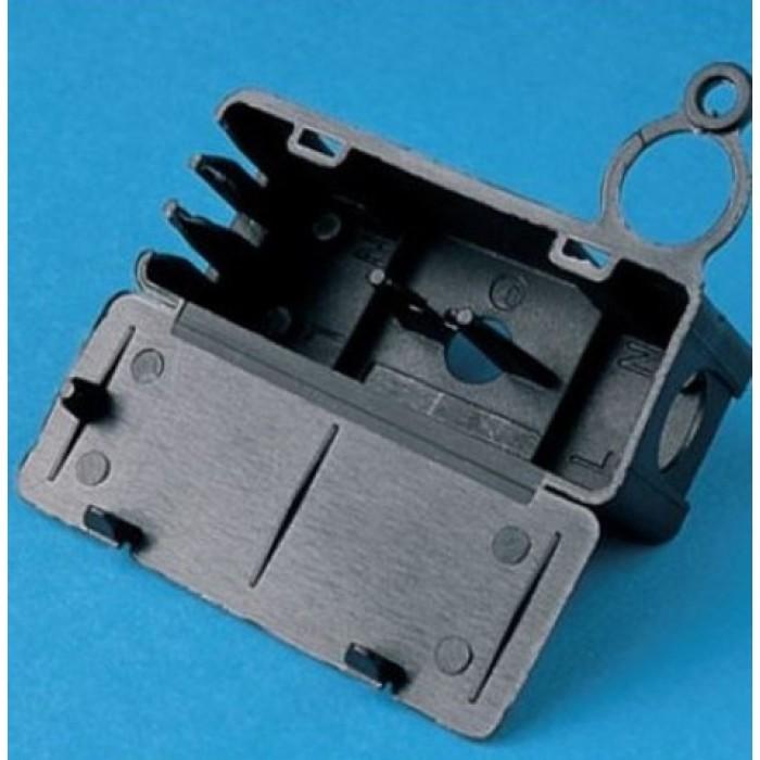 15290/100/222 Steab Защитный короб для клеммы черный максимум 2,5 мм2