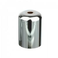 Стаканчик под патрон Е27 D=42 mm. H=62 mm, сталь, цвет хром, артикул CU15 CH