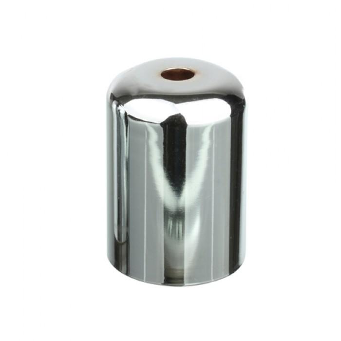 1Стаканчик под патрон Е27 D=42 mm. H=62 mm, сталь, цвет хром, артикул CU15 CH