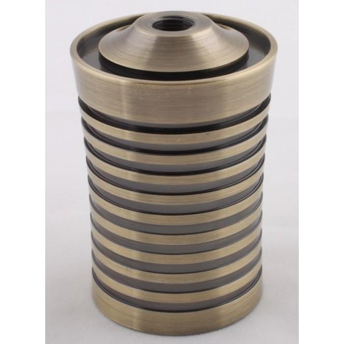 1Декоративный стакан 68х47мм М10х1, цвет антик, артикул DL07 AB
