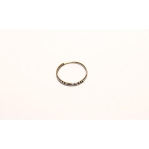 Крепеж для кристаллов кольцо 11 мм артикул FC-002-11-NI никель