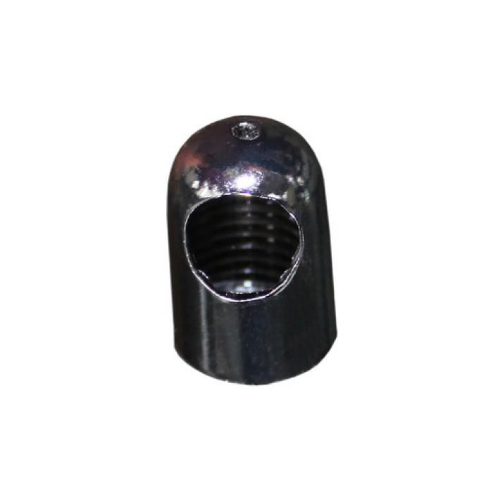 1 FN02 DC Наконечник под тросик и провод, цвет темный хром