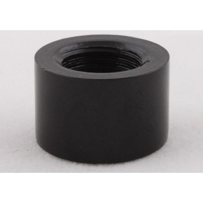 2Наконечник стальной, М10х1, 16х10мм, цвет черный, артикул FN06 BL