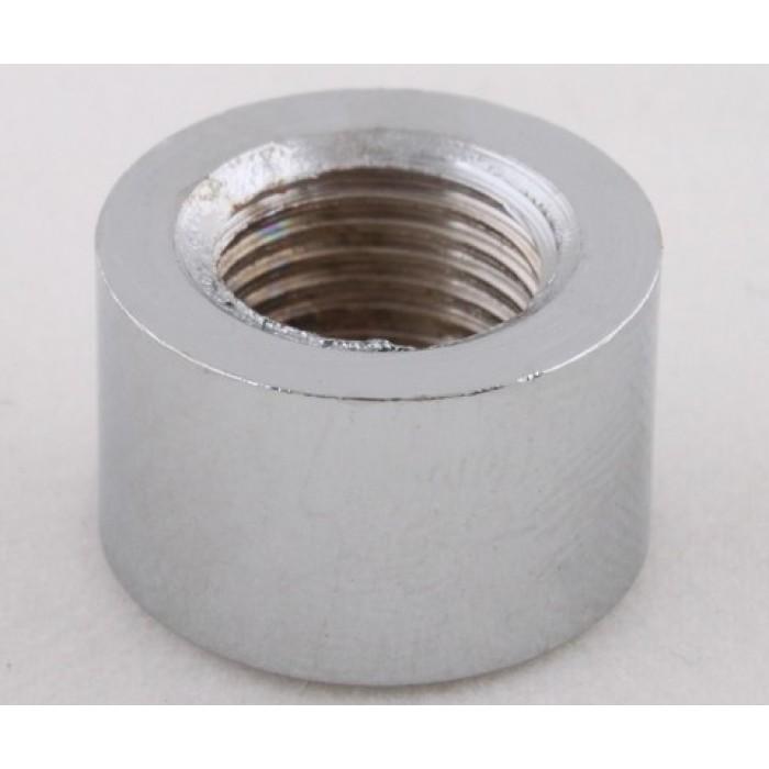 2Наконечник стальной, М10х1, 16х10мм, цвет хром, артикул FN06 CH