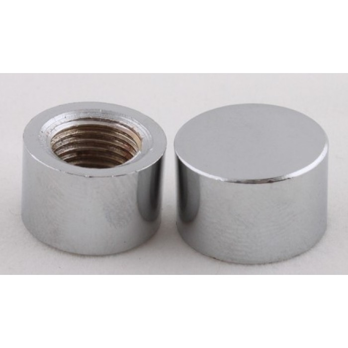 1Наконечник стальной, М10х1, 16х10мм, цвет хром, артикул FN06 CH