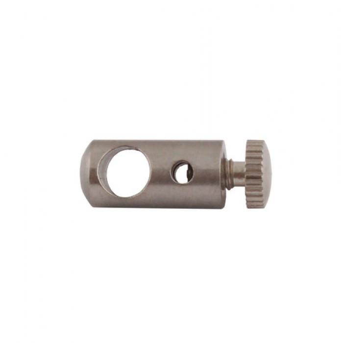 1Держатель тросика и провода d=8 L=25мм, цвет никель, GG01 NI