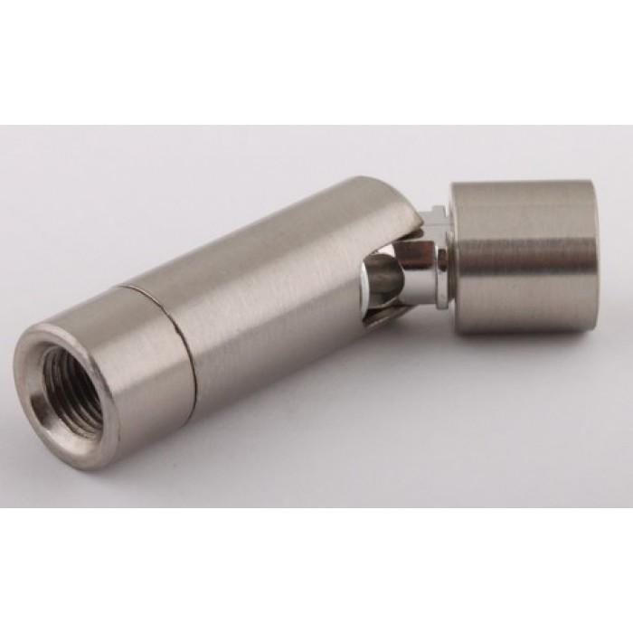 1Поворотный элемент для светильника, L=63мм, М10х1, цвет никель, артикул SWIVEL05 NI