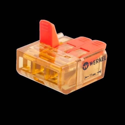 TR-02-03 Клемма соединительная 3 контакта (5шт)